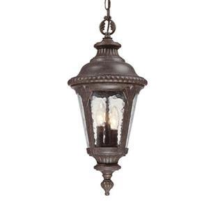 Acclaim Lighting Surrey Outdoor Lantern - 3 Lights - Black