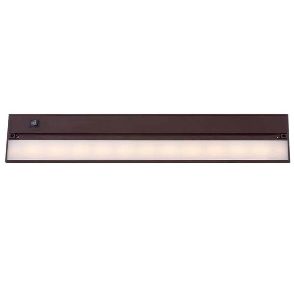 """Luminaire DEL sous-meuble, 22"""", bronze"""