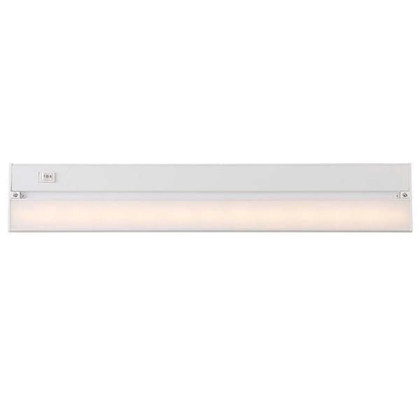 Luminaire DEL sous-meuble, blanc