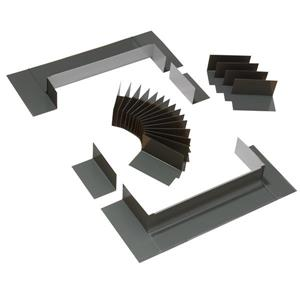 VELUX Curb Mount 46-width Low-Profile Flashing Kit for Shingles