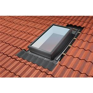 VELUX ECW 3046 0000C Curb Mount High-Profile Tile Roof Flash