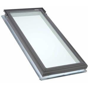 VELUX Fixed Deck Mount Skylight - Laminated - 21.5-in x 27.38-in