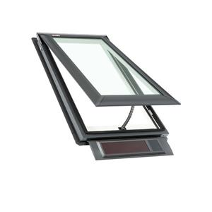 VELUX Solar Venting Deck Mount Skylight - 21.5-in x 27.38-in
