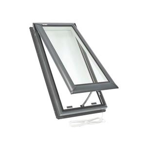 VELUX Electric Venting Deck Mount Skylight - 21.5-in x 27.38-in