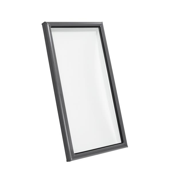 Puits de lumière VELUX 46,5 po x 46,5 po à montage sur cadre fixe avec verre Lam LoE3