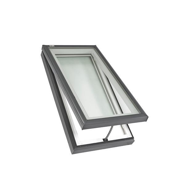Puits de lumière VELUX 22,5 po x 46,5 po à montage sur cadre avec verre Lam LoE3