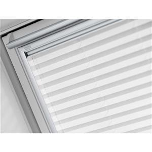 Store filtrant de lumière à énergie solaire blanc VELUX pour puits de lumière FS M08