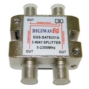 Digiwave 3-Way Splitter