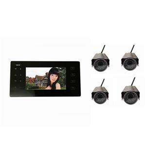Portable Wireless DVR with 4 Cameras