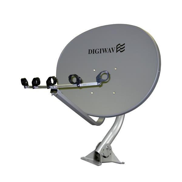 """Antenne satellite elliptique, 36"""""""