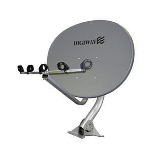 """Digiwave Elliptical Satellite Dish - 36"""""""