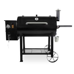 Pit Boss Wood Pellet Grill - 66.80-in x 49.1-in - Black