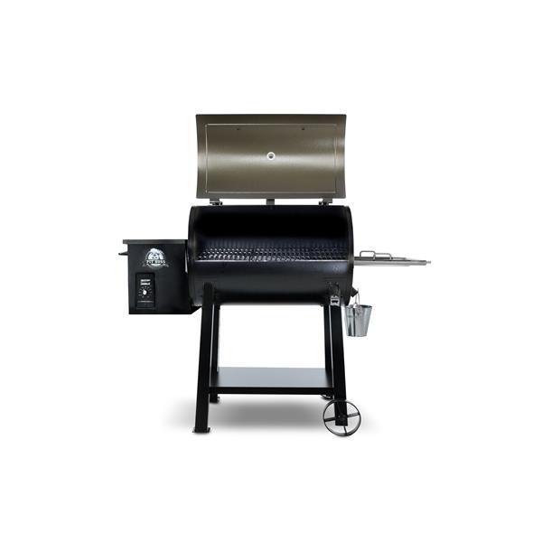 "Barbecue à pellets Pit Boss, 48,5"" x 40,5"", brun"