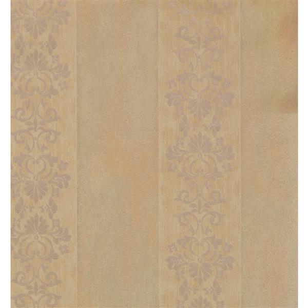 York Wallcoverings Trellis Traditional Wallpaper - Beige