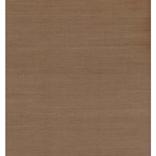York Wallcoverings Stripes Modern Wallpaper - Brown
