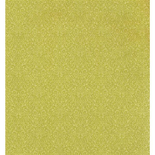 York Wallcoverings Stripes Modern Wallpaper - Green