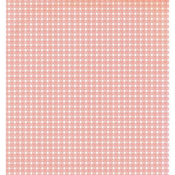 York Wallcoverings Stripes Modern Wallpaper - Pink/White