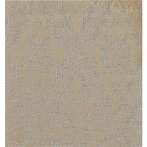 York Wallcoverings Paisley Modern Wallpaper - Beige/Grey