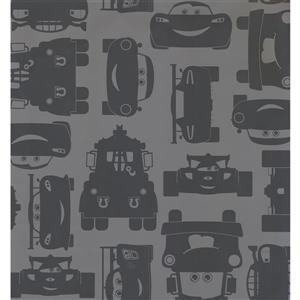 York Wallcoverings Kids Wallpaper for Boys and Girls - Grey