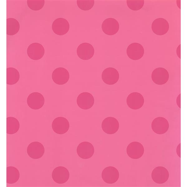 York Wallcoverings Kids Wallpaper for Boys and Girls - Pink