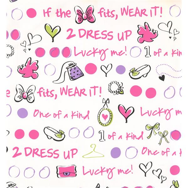 York Wallcoverings Kids Wallpaper for Boys and Girls - Cream