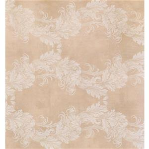 Damask Traditional Wallpaper - Pink/White