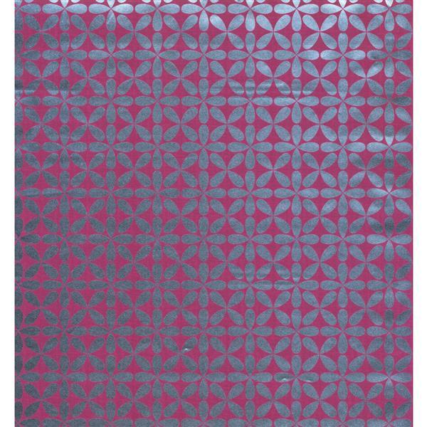 York Wallcoverings Abstract Modern Wallpaper - Grey/Violet