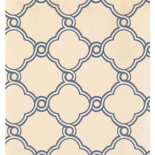 York Wallcoverings Abstract Modern Wallpaper - Cream/Grey