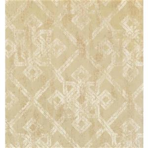 York Wallcoverings Abstract Modern Wallpaper - Light Green