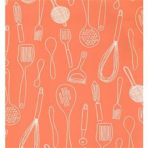 Abstract Modern Wallpaper - Orange