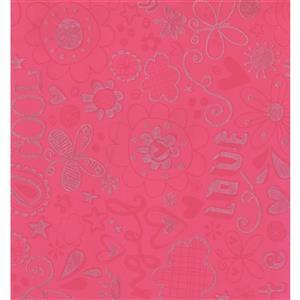 Abstract Modern Wallpaper - Pink