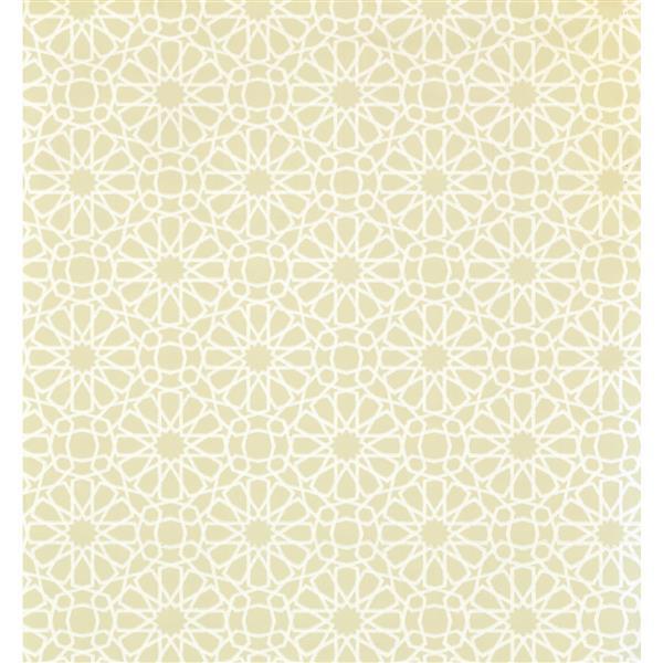 York Wallcoverings Abstract Modern Wallpaper - Cream/Light Green