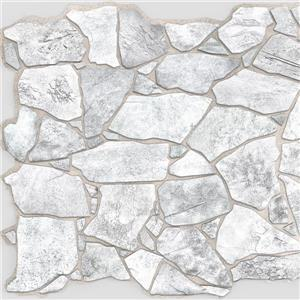"Retro Art 3D Retro Wall Panel - PVC - 39"" x 25"" - Grey"