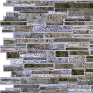 3D Retro Wall Panel - PVC - 38
