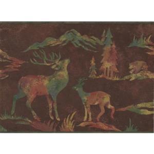 Retro Art Wildlife Outdoors Wallpaper