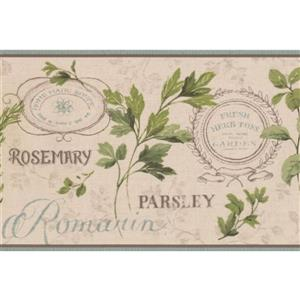York Wallcoverings Vintage Herb Kitchen Wallpaper