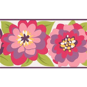 York Wallcoverings Kids Floral Wallpaper