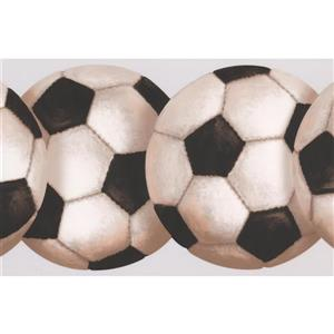 York Wallcoverings Soccer Ball Wallpaper Border