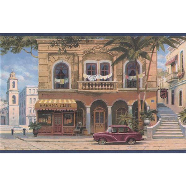 Retro Art Vintage Havana Wallpaper
