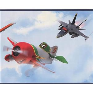 York Wallcoverings Disney Planes Wallpaper Border
