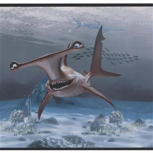 York Wallcoverings Disney Sharks Wallpaper Border