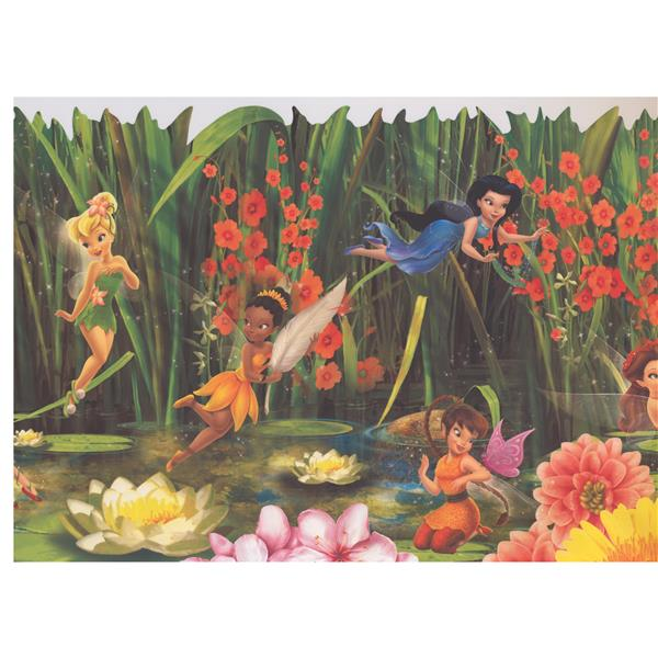York Wallcoverings Disney Fairies Tinker Bell - Multicoloured