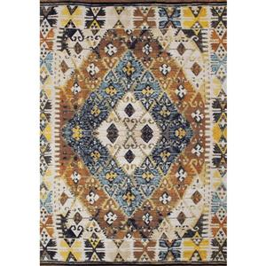 Novelle Home Zara Geometric Rug - 5' x 8' - Yellow