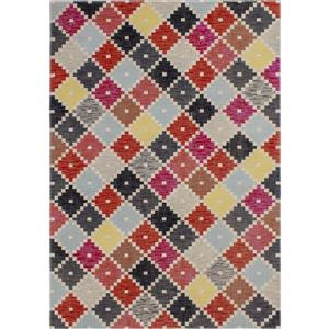 Novelle Home Zara Geometric Rug - 8' x 11' - Red