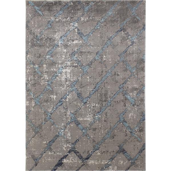 Novelle Home Zara Abstract Rug - 8' x 11' - Blue