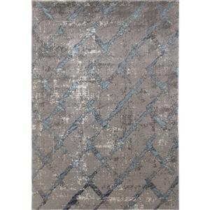 Novelle Home Zara Abstract Rug - 8' x 11' - Blue