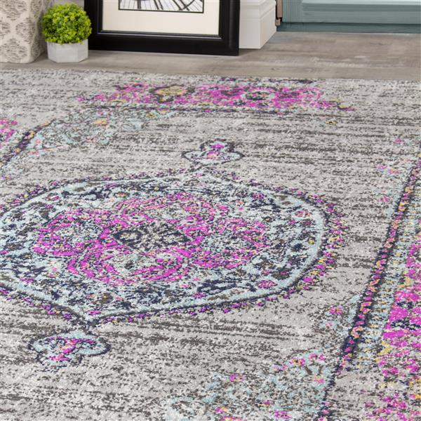 Novelle Home Sovereign Abstract Rug - 5' x 8' - Pink