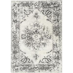 Novelle Home Converge Abstract Rug - 7' x 10' - Gray