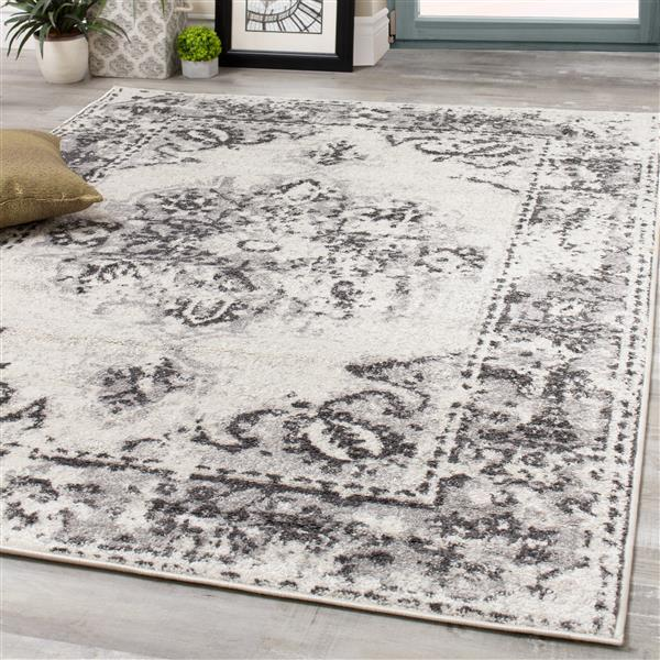 Novelle Home Converge Abstract Rug - 8' x 11' - Gray