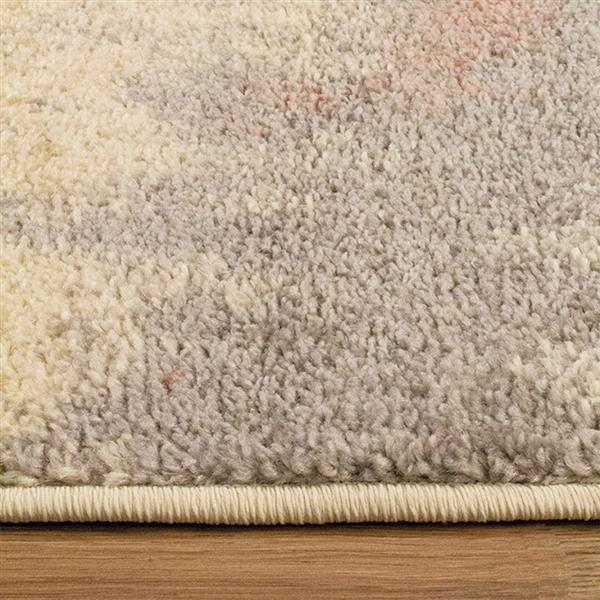 Kalora Focus Abstract Rug - 5' x 8' - White